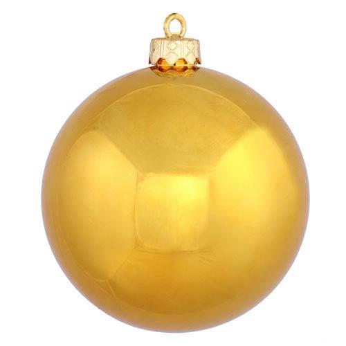 Antique Gold 4 Finish Ball Ornament 60mm