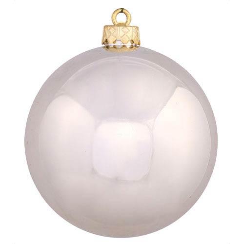Vickerman Champagne 4 Finish Ball Ornament 60mm