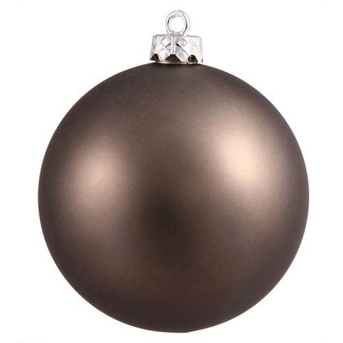 Pewter 4 Finish Ball Ornament 70mm
