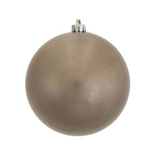 Pewter 5-Inch UV Candy Ball Ornament, Set of Four