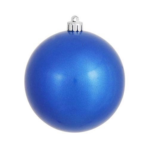Blue 8-Inch UV Candy Ball Ornament