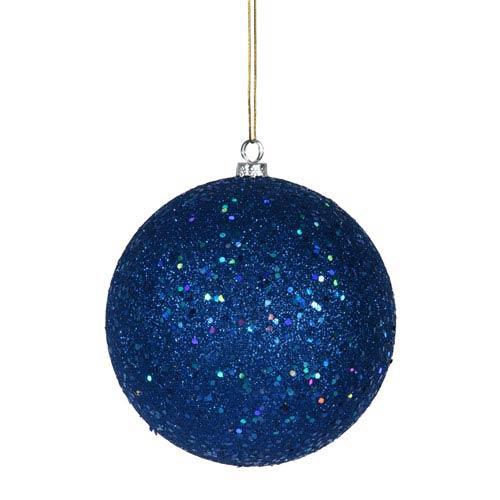 Vickerman Blue Ball Ornament 200mm