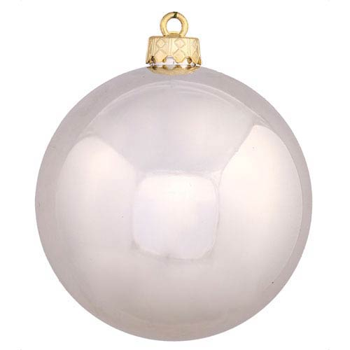 Champagne 12-Inch UV Shiny Ball Ornament