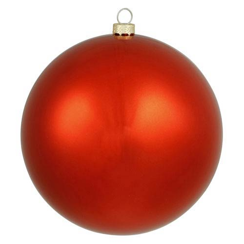 Red 16-Inch UV Shiny Ball Ornament