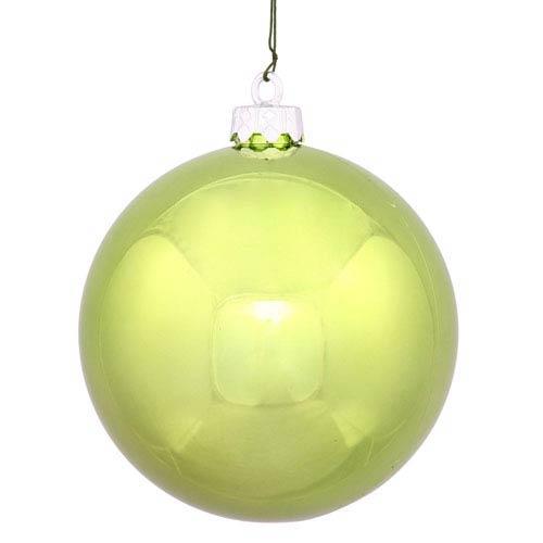 Lime 16-Inch UV Shiny Ball Ornament