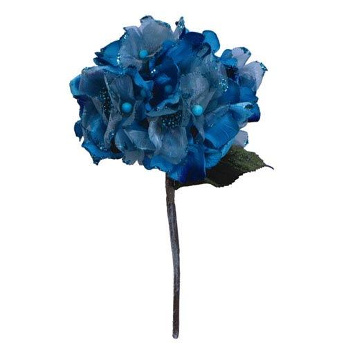 Aqua Velvet Hydrangea Flower
