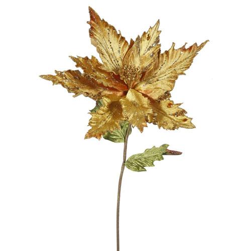Gold Poinsettia, Set of Three