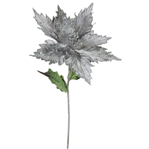 Pewter Poinsettia, Set of Three