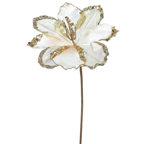 Rose Gold Amaryllis, Set of Three