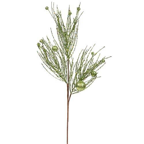 Vickerman Green 29-Inch Pine Ball Spray