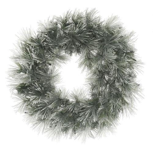 Vickerman 30 In. Flocked Walden Pine Wreath