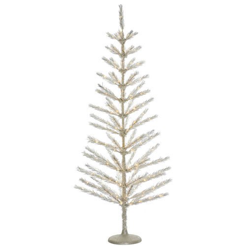 3 Ft. Champagne Feather Tree