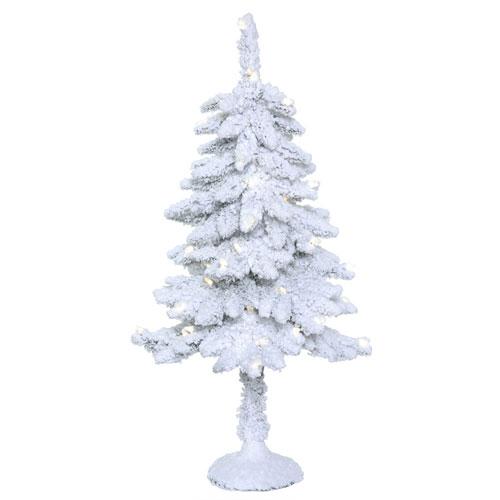 3 Ft. Snowy Alpine Tree