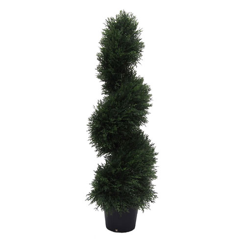 3 Ft. Cedar Spiral In Pot (UV)