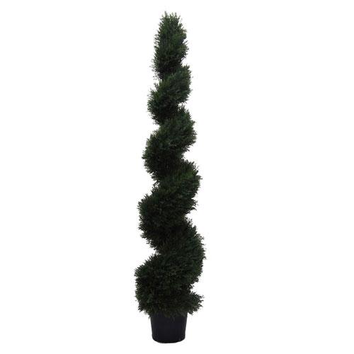 6 Ft. Cedar Spiral In Pot (UV)