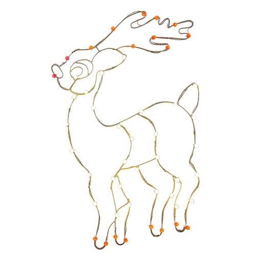 Reindeer C7 Wire Motif