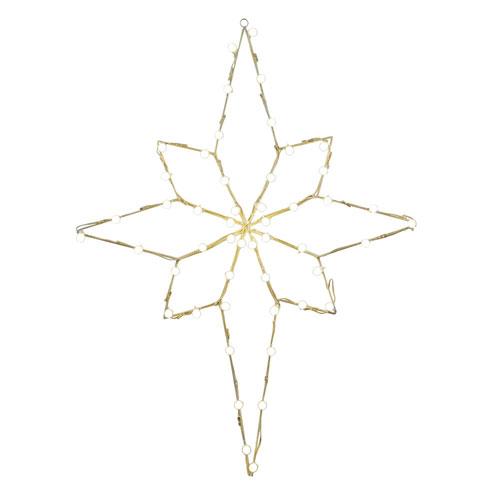 48 In. Bethlehem Star Wire Motif