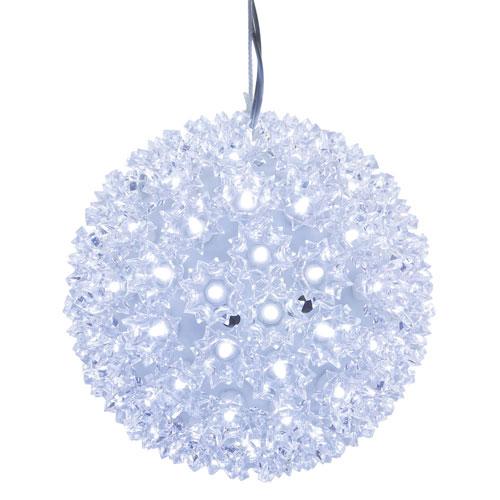 150 Light LED Cool White Starlight Sphere Set