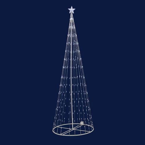 Warm White 4 Foot LED 152 Light Show Tree
