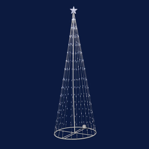 Warm White 9 Foot LED 344 Light Show Tree