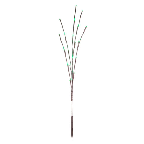 LED Green Twig Lights, Set of Three