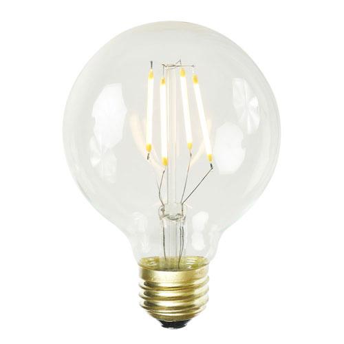 G80 WmWht LED Filament 3.2W Bulb