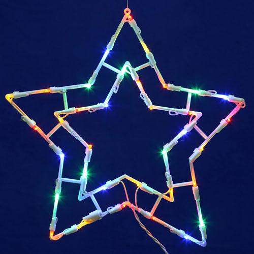 White LED Star Window Decor