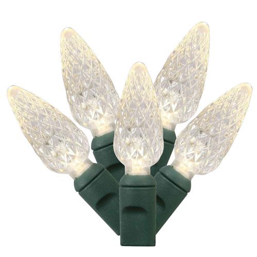Warm White LED Light Set with 50 Lights
