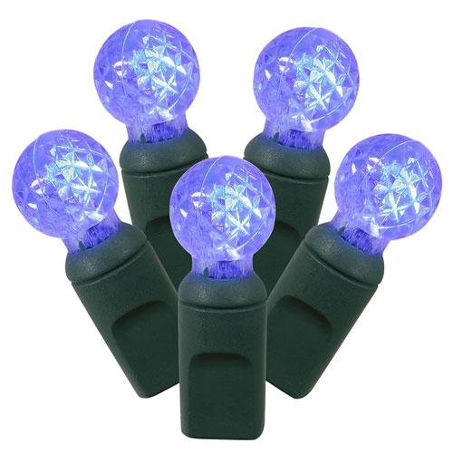 Blue LED Light Set with 50 Lights