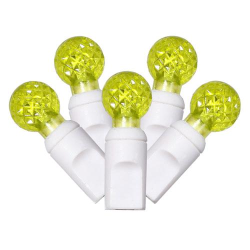 Lime 25 Foot LED Light Set with 50 Lights