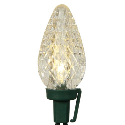 Vickerman 25 Light Warm White C9 LED Light Set