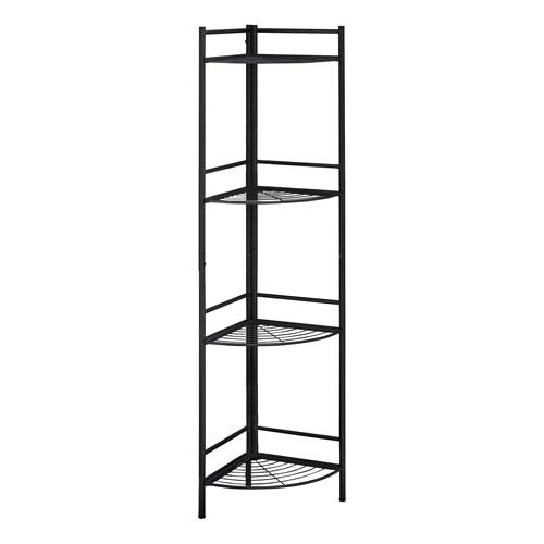 Black 19-Inch Bookshelf