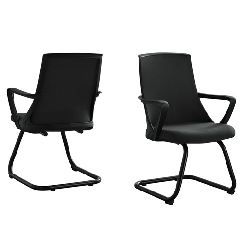 Black 21-Inch Office Chair