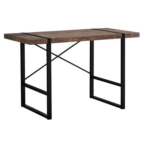 Brown 49-Inch Computer Desk