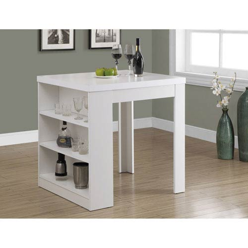 Dining Table - White Counter Height