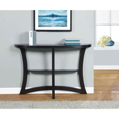 Cappuccino 47-Inch Accent Table