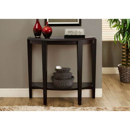 Cappuccino 36-Inch Accent Table