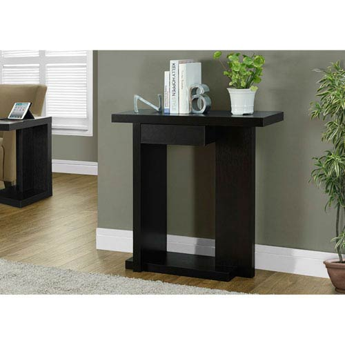 Hawthorne Ave Cappuccino 32-Inch Accent Table