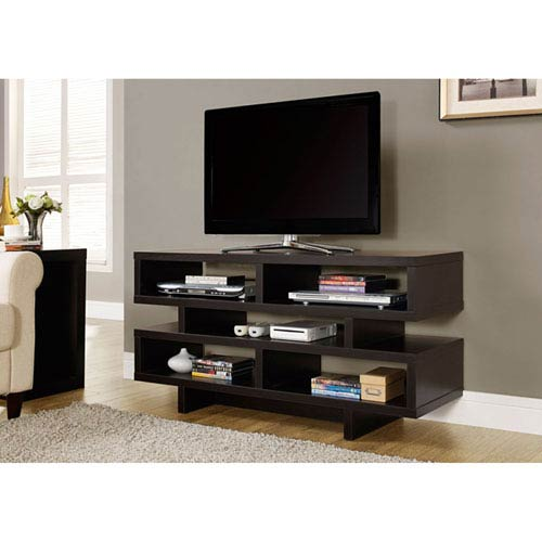 Hawthorne Ave Cappuccino 48-Inch TV Console