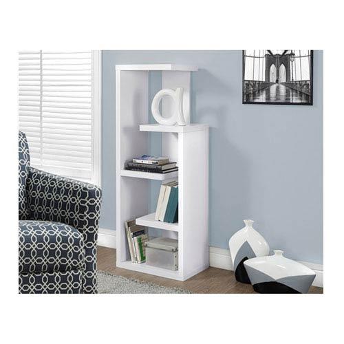 White 48-Inch Display Unit