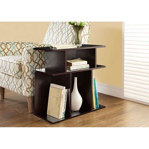 Cappuccino 24-Inch Accent Table