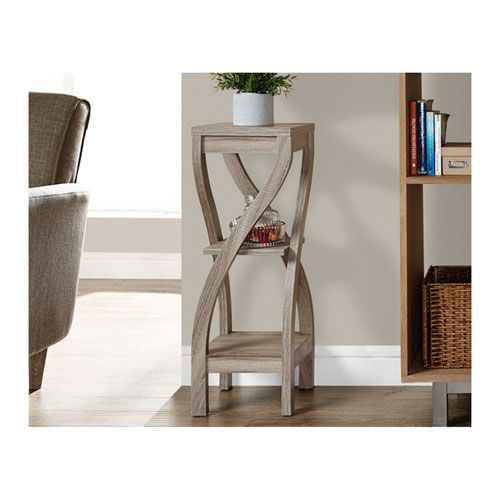 Dark Taupe 32-Inch Plant Stand