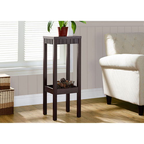 Hawthorne Ave Cappuccino 32-Inch Plant Stand