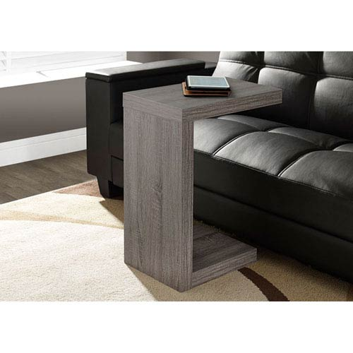 Hawthorne Ave Dark Taupe Accent Table