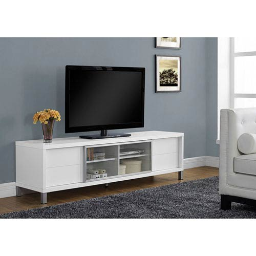 Hawthorne Ave White 70 Inch Tv Console