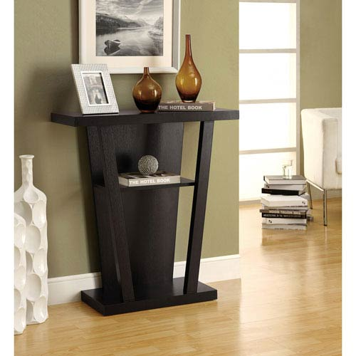 Hawthorne Ave Accent Table - 32L / Cappuccino Hall Console