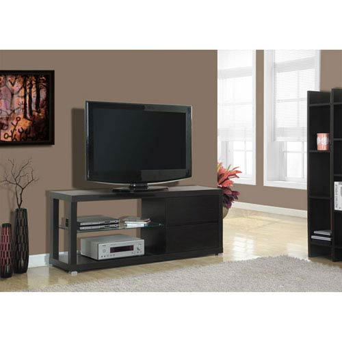 Hawthorne Ave Cappuccino 60-Inch TV Console