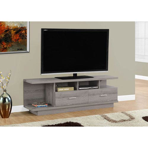 Hawthorne Ave Dark Taupe 60-Inch TV Stand
