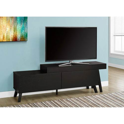 Hawthorne Ave TV Stand - 67L to 84L / Cappuccino / 2 Drawers