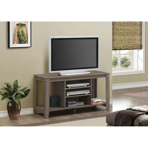 Dark Taupe 48-Inch TV Console